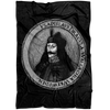 Vlad the Impaler Fleece Blanket