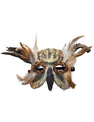 Lilith Great Horned Owl Deific Mask