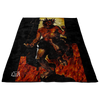 Satan (Devil) from Hell Fleece Blanket