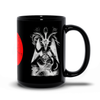Sabbatic Goat (Baphomet) & Infernal Union Sigil Black Mugs