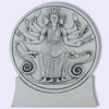 Hecate Hekate Triad Goddess of Magick, Healing, Renewal Plaque