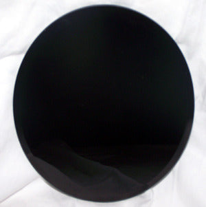 Black Scrying Mirror