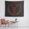 LUCIFERIAN OUROBOROS (LEVIATHAN) TAPESTRY