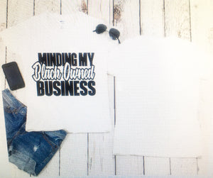Blacked Owned Business Tee