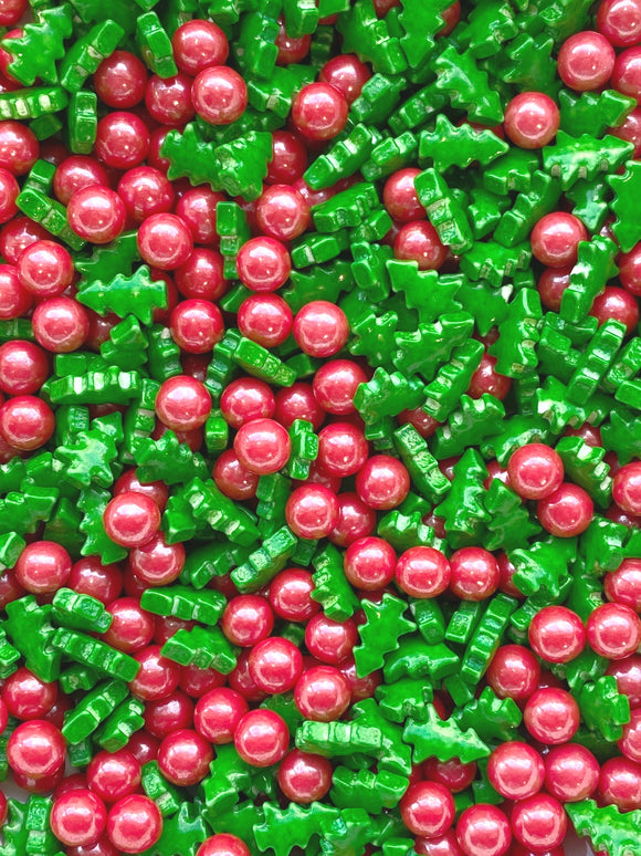 Christmas Tree Pearl Mix