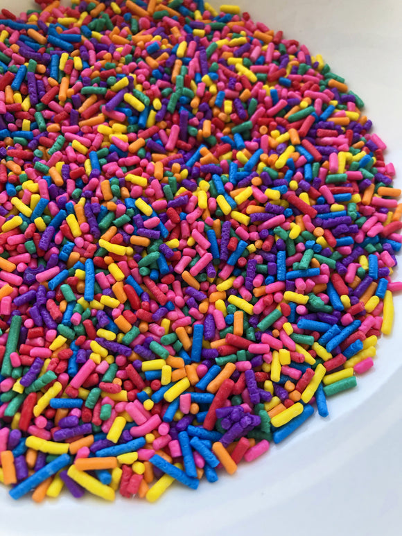 Rainbow Bright Jimmies (Vegan)