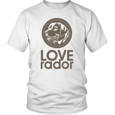 LOVE-rador Shirt - White Unisex