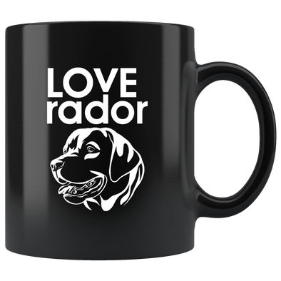 LOVE-rador Mug - Black