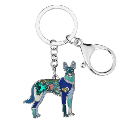 Joe Xoloitzcuintle Key Chain