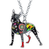 Simon Bull Terrier Necklace