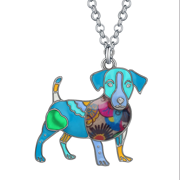 Tina Jack Russell Necklace