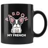 Pardon My French Mug - Black