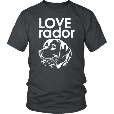 LOVE-rador Shirt - Dark Unisex
