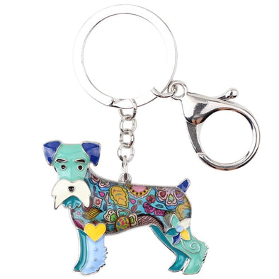 Bailey Schnauzer Key Chain