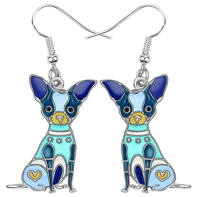 Bella Chihuahua Earrings
