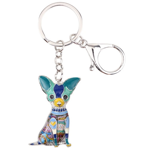 Bella Chihuahua Key Chain