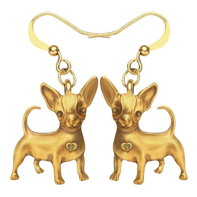 Mimi Chihuahua Dog Earrings
