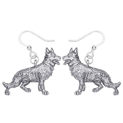 Germany Shepherd Dog Earrings