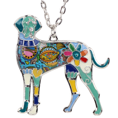Sadie Great Dane Necklace