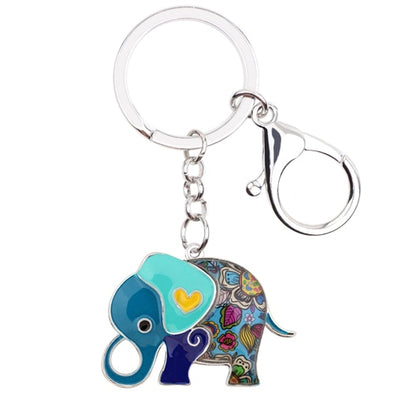 Ivy Elephant Key Chain
