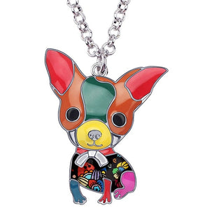 Chihuahua Enamel Necklace (Limited Edition)