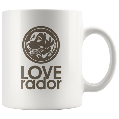 LOVE-rador Mug - White
