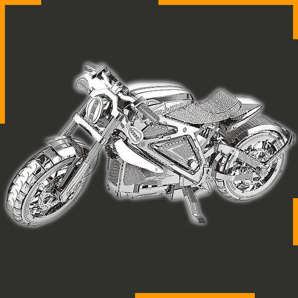 'Steel This Medal' 3D Motorcycle Puzzle