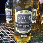 Happy Birthday Brew - A Year Older Beer Labels