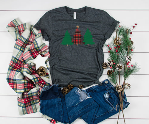 Christmas Trees Ladie's Shirt