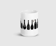 David Rose's Iconic Shirts as Wine Bottles Mug