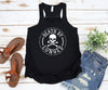 Death by Lunges Racerback Tank