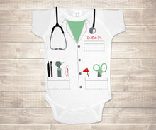 Load image into Gallery viewer, Dr. Cutie Pie Infant Bodysuit - Medical Coat