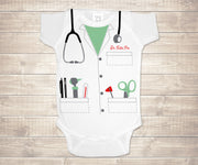 Dr. Cutie Pie Infant Bodysuit - Medical Coat