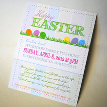 Load image into Gallery viewer, Hoppy Easter Invitation