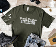 Funny Family Vacation Shirt