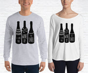 The Wine Not The Label Long Sleeve Shirt