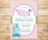 Little Bird Birthday Invitation