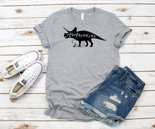 Load image into Gallery viewer, Mamasaurus Dinosaur T-Shirt