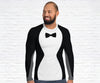 Penguin Waiter Long Sleeve Rash Guards