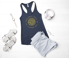 Scottish Princess Racerback Tank