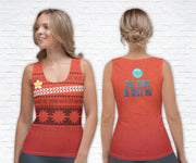 Moana Inspired Running Tank Top