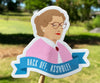 Back Off, Asshole (Mrs. Doubtfire) Sticker