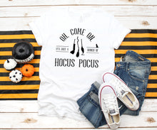 Load image into Gallery viewer, Hocus Pocus Halloween T-Shirt