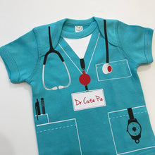 Load image into Gallery viewer, Dr. Cutie Pie Infant Bodysuit - Scrubs