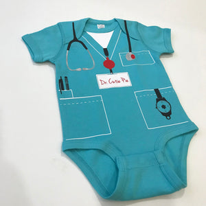 Dr. Cutie Pie Infant Bodysuit - Scrubs