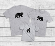 Bear Cub Sibling Shirts