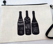 """I Like the Wine and Not the Label"" Bag"