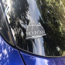Load image into Gallery viewer, Mountain Mama Clear Sticker