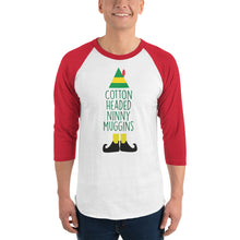 Load image into Gallery viewer, Cotton Headed Ninny Muggins 3/4 Sleeve Christmas Shirt