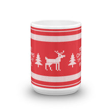 Load image into Gallery viewer, Merry Christmas Ya Filthy Animal Ugly Sweater Mug